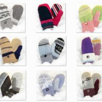 New Recycled Wool Mittens