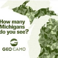 Michigan GeoCamo Clothing