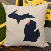 Introducing Home Sweet Michigan Pillows