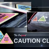 Introducing Caution Cling Road Safety Decals!