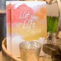 Introducing List Your Life:  A Modern-Day Memoir Journal