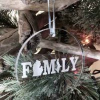 Personalized Engraved Ornaments by Endless Etching