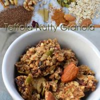 Introducing Teffola Nutty Granola by Tenera Grains