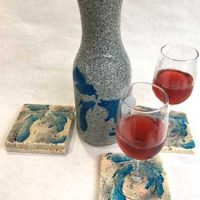 Introducing Sunset Wineworks Decanter and Coaster Sets