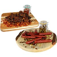 Introducing Hunter Sticks and Jerky by Five Lakes Products