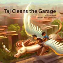Taj Cleans the Garage Book