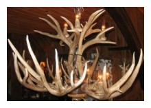 Antler Chandeliers | Michigan Antler Art - Michigan Made Products