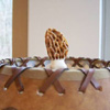 Real Antler Finial for Top of Lamp