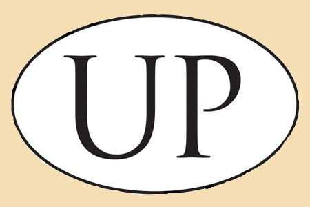 UP Oval Sticker