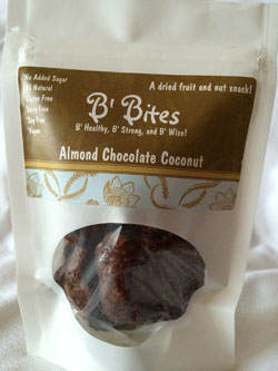 Almond Chocolate Coconut B' Bites