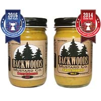 Honey Habanero & Sweet Jalapeno Mustard (2 Pack)