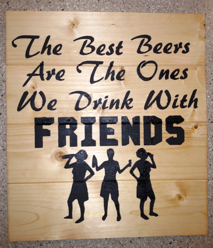 Funny Quotes About Friendship And Drinking: The Best Beers Are The Ones We Drink With Friends