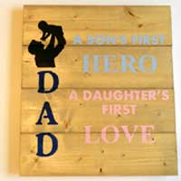Family and Friend Themed Inspirational Signs