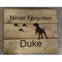 German Short Hair Pointer Memorial – Inspirational Sign