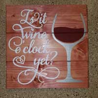 Wine Inspirational Signs