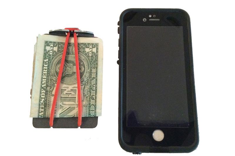 Minimalist Survival Bandit Wallet Michigan Made Products
