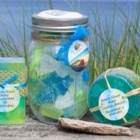 Introducing Beach Glass Soap Bath Products