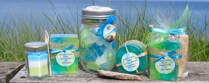 Beach Glass Soap Products