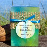 Beach Glass Soap Bar
