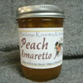 Homemade Peach Amaretto Jam