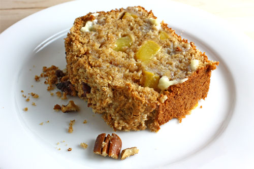 Peach Bread with Pecans - Buy 1 Get 1 FREE! | Beckeys Kountry Kitchen
