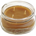Bee Organic Beeswax Candles 8 oz Glass Jar