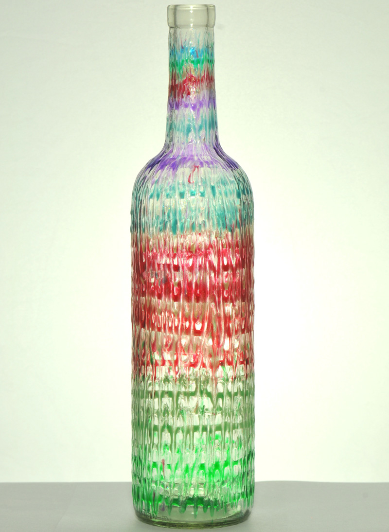 wine bottle art bella 39 s glass
