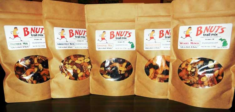 B-Nuts Trail Mix Variety Pack