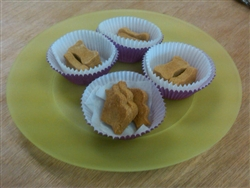 Dog Treat - Peanut Butter & Apple Sauce Cookies