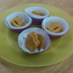 Peanut Butter Apple Sauce Dog Treats