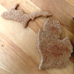Michigan Shape Dog Treats