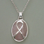 Awareness Ribbon Necklace