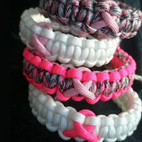 Cancer Awareness Paracord Bracelet