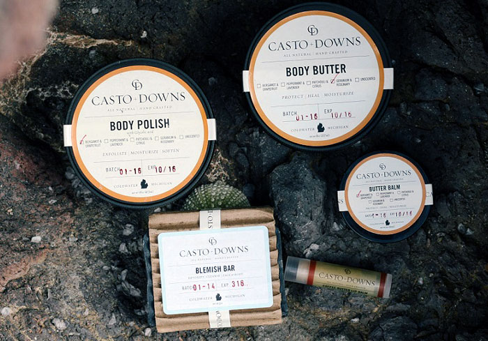Casto + Downs All Natural Body Butter