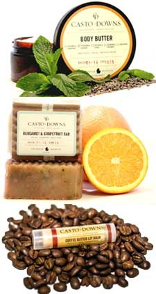 Casto + Downs All Natural Skincare Products