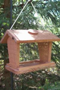 Economy Bird feeder Handcrafted of Barn wood