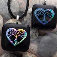 Heart Tree of Life Pendants