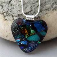End of Day Heart Pendant