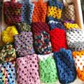 Crocheted Bottle Holders