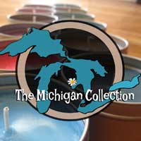 100% soy Michigan Candle Collection