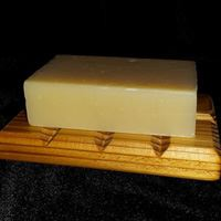 Cedar Contemporary Cedar Soap Dish