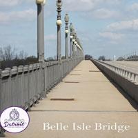 Detroit Belle Isle Bridge Postcard