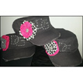 Cadet Style Hats with Bling by Dirty Girl