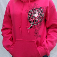 Dirty Girl Hoodies for Race Fans