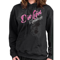 Dirt Modified Wrap Around Design Hoodie by Dirty Girl for Race Fans