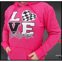 LOVE Racing Dirt LM and Dirt Mod Glitter Hoodie