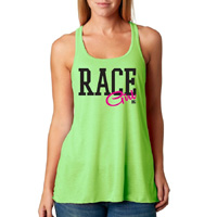 Dirty Girl Shirts Tanks for Race Fans