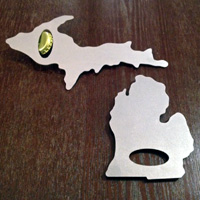 Combo Michigan Bottle Opener