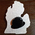 LP Michigan Bottle Opener - Wallet Size