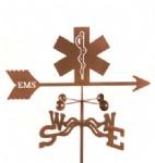 Emergency Medical Services Weather Vane